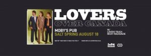 Lover's Touch with Nicky MacKenzie - August 18th @ Moby's Pub