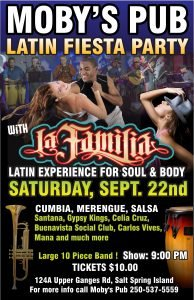 La Familia Latin Fiesta Party - September 22nd