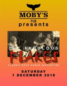 The Fabulous Flakes - December 1st @ Moby's Pub