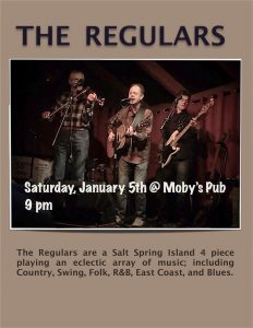 The Regulars - January 5th @ Moby's Pub
