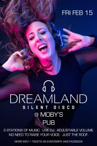 Silent Disco x - February 15th @ Moby's Pub