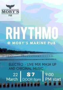 Rhythmo with Kemal Evans - March 22nd @ Moby's Pub