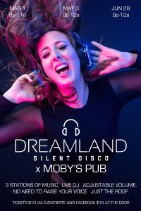 Silent Disco - May 3rd @ Moby's Pub