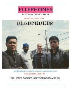 Ellephones - May 31st @ Moby's Pub