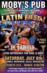 La Familia - July 6th @ Moby's Pub