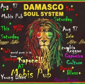 Damasco Soul System - August 17th @ Moby's Pub