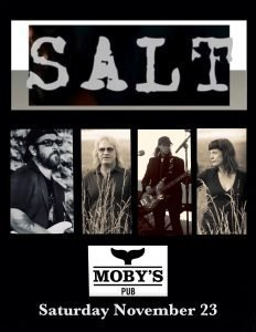 SALT - November 23rd @ Moby's Pub